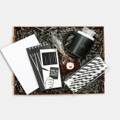 PK Boxes - Black & White Box