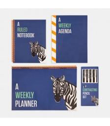 Paket - Contrasting Set Paketi: Mavi