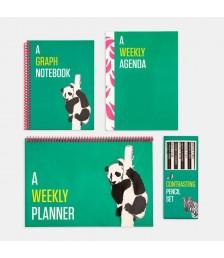 Paket - Contrasting Set Paketi: Yeşil