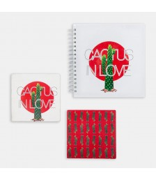 Paket - Hipster Series ICONS: Cactus in Love Set