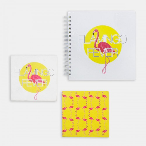 Paket - Hipster Series ICONS: Flamingo Fever Set