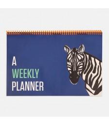 Planlayıcı - Contrasting Set Haftalık Planlayıcılar: Mavi