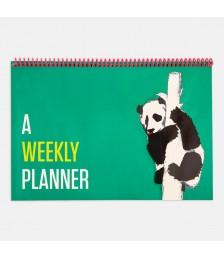 Planlayıcı - Contrasting Set Haftalık Planlayıcılar: Yeşil