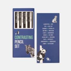 Kalem - Contrasting Pencil Set: Mavi
