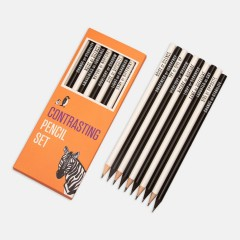 Kalem - Contrasting Pencil Set: Turuncu