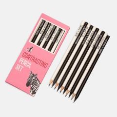 Kalem - Contrasting Pencil Set: Pembe