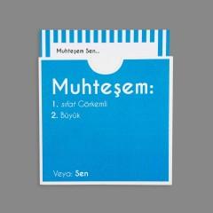 Dictionary Cards - MUHTEŞEM