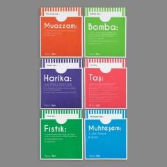 Hediye Kartı - Dictionary Cards - HARİKA