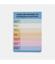 Notepad - Günler Konuşuyor Notepadler - Mavi