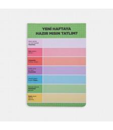 Notepad - Günler Konuşuyor Notepadler - Yeşil