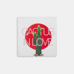 Hipster Series Coasters - ICONS: Cactus in Love Set