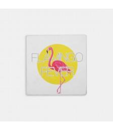 Bardak Altlığı - Hipster Series Coasters - ICONS: Flamingo Fever Single
