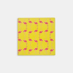 Bardak Altlığı Seti - Hipster Series Coasters - ICONS: Flamingo Fever Set
