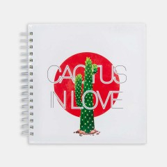 Defter - Hipster Series Notebooks - ICONS: CACTUS IN LOVE