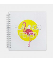 Defter - Hipster Series Notebooks - ICONS: FLAMINGO FEVER