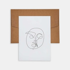 Line Drawings 13x18 - Face 1