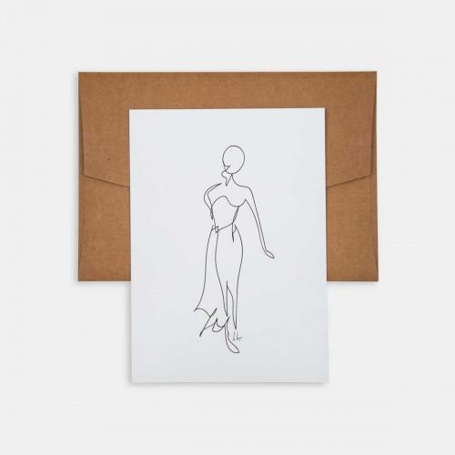 Mini Poster - Line Drawings 13x18 - Figure 1