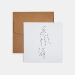 Mini Poster - Line Drawings 15x15 - Figure 1