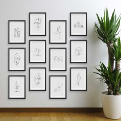 Line Drawings 13x18 - Figure 1