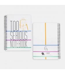 Defter - NoteBOOK Notebooks: TOO SERIOUS