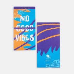 Notepad - Realistic Notepads - No Good Vibes