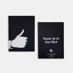 Defter - Talk to the Hand Notebooks - Thumbs up