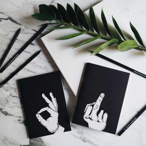 Defter - Talk to the Hand Notebooks - Peace
