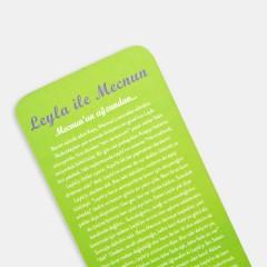 Kitap Ayracı - Ünlü Aşıklar Kitap Ayracı - LEYLA ile MECNUN